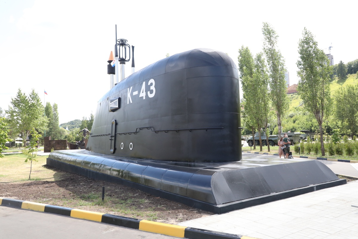 Рубку атомной подлодки «Скат» установили в нижегородском парке Победы - фото 1