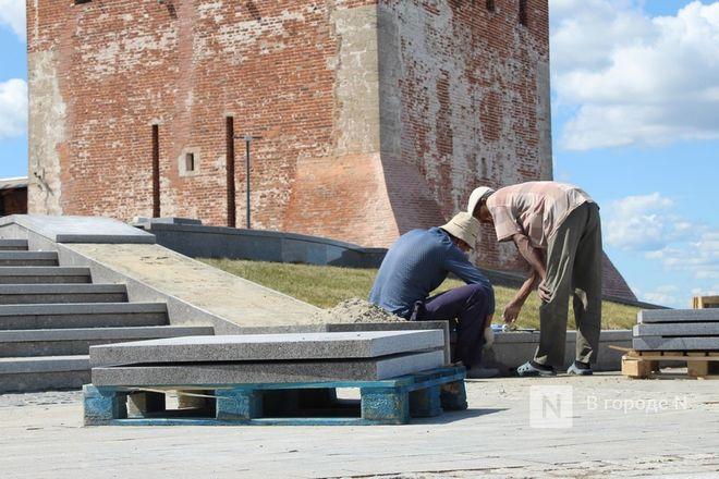 Чкаловскую лестницу открыли, несмотря на продолжающиеся работы - фото 7