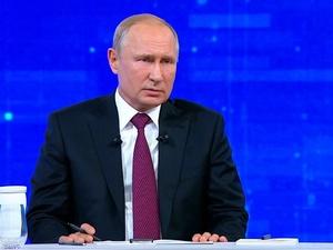 У Путина спросили, не инопланетянин ли он