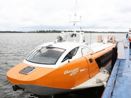 Стали известны маршруты и стоимость поездок на судах на подводных крыльях «Валдай»