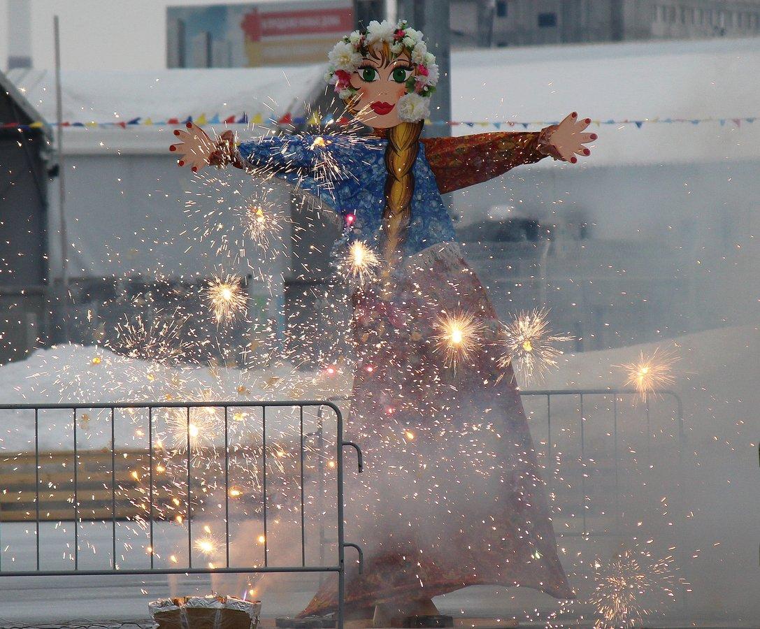 Нижегородцы отметили спортивную Масленицу в «Зимней сказке» - фото 9