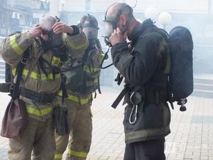 Более 80 человек эвакуировали из-за возгорания в высотке в Советском районе