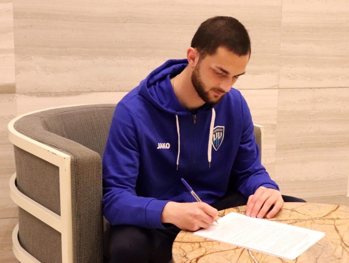 Нападающий Бека Кавтарадзе подписал контракт с ФК «Нижний Новгород» - фото 1