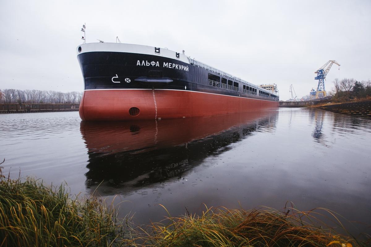 Второй сухогруз «Красного Сормова» для компании «Альфа» спустили на воду - фото 1
