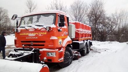 Новая комбинированная машина будет чистить нижегородские дороги