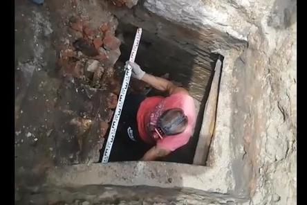 Столетние подвалы нашли под своими домами жители микрорайона «Ярмарка» в Нижнем Новгороде