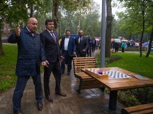 Игровой комплекс за 20 млн рублей открыли на улице Сурикова