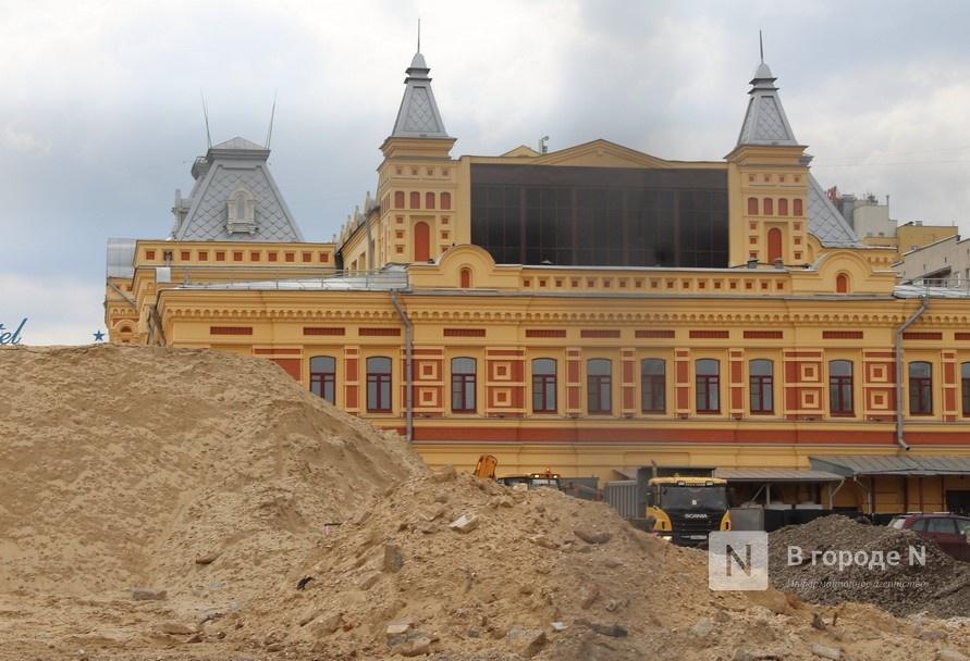 Укладка плитки и устройство ливневки начались на Нижегородской ярмарке - фото 1