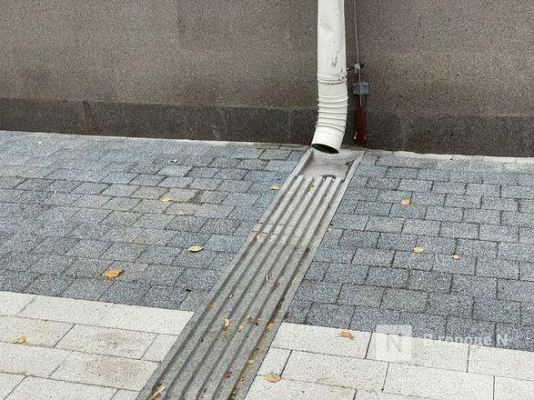 Стоки для воды на отремонтированных улицах Нижнего Новгорода доделают к 15 октября - фото 2
