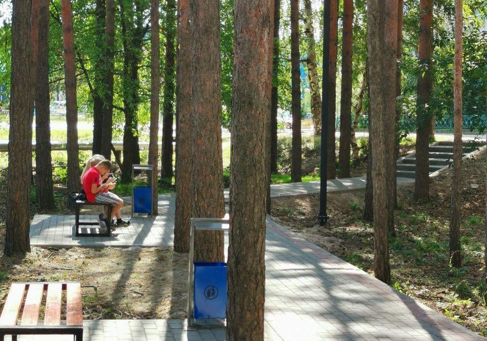 Сквер и набережную благоустроили в Выксе - фото 1