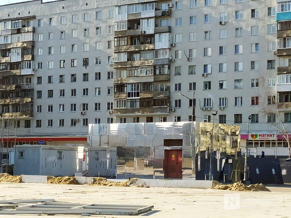 Первый павильон Нижегородской ярмарки превратили в зеркальные кубоиды - фото 2