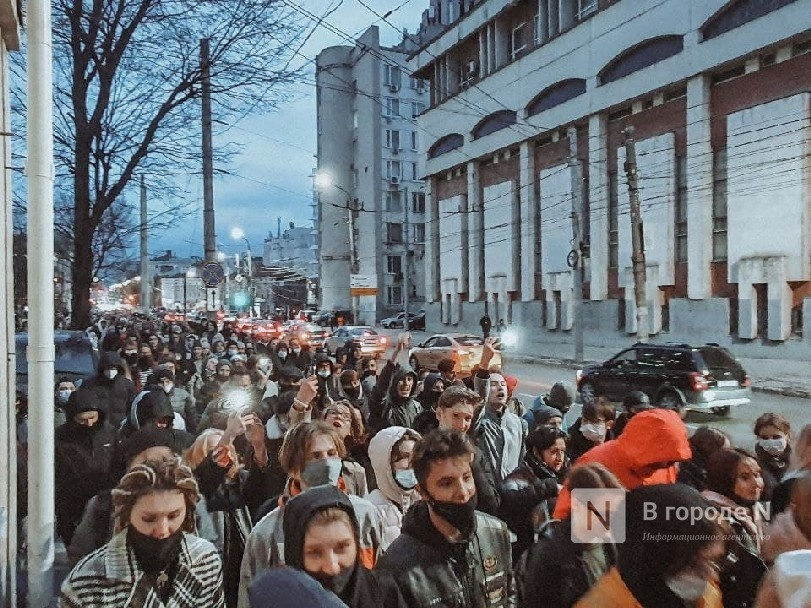 Число задержанных из-за несанкционированного митинга в Нижнем Новгороде возросло до 12 - фото 1