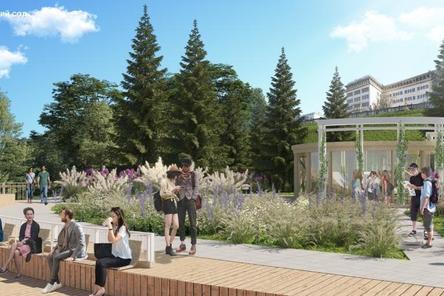 За 500 млн рублей благоустроят Александровский сад в Нижнем Новгороде