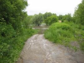 Три автомобильных низководных моста затопило в Нижегородской области