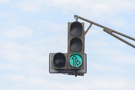 Светофор на проспекте Гагарина перенесут из-за аквапарка