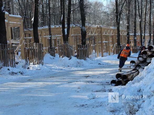 Более 240 рабочих благоустраивают нижегородскую «Швейцарию» - фото 48