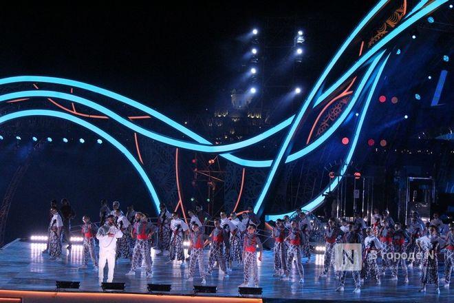 Огонь, вода и звезды эстрады: Как прошло гала-шоу 800-летия Нижнего Новгорода - фото 33