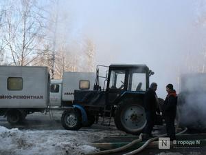 Жители Советского района замерзают в квартирах из-за коммунальной аварии