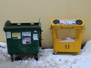 В Нижнем Новгороде не хватает мусорных контейнеров