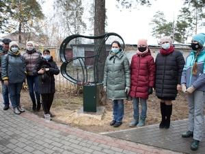 Арт-объект для сбора пластиковых крышек появился в Выксе
