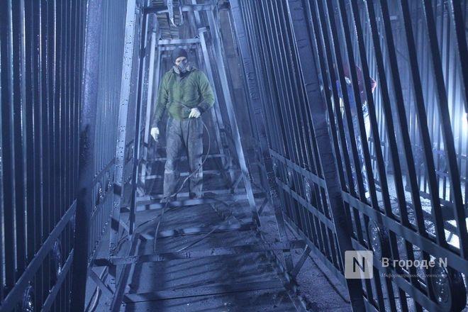 Как идет реставрация исторической ограды парка «Швейцария» - фото 53