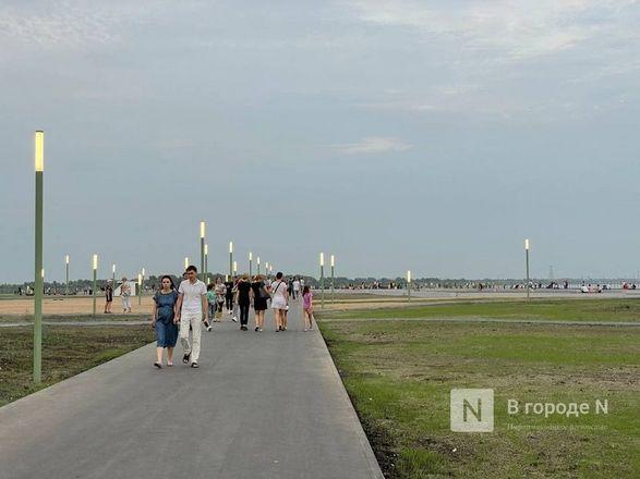 Участок от собора до пакгаузов на нижегородской Стрелке открыли для прогулок - фото 4