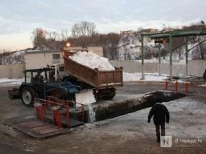Проблемы со строительством станции снеготаяния возникли в Приокском районе