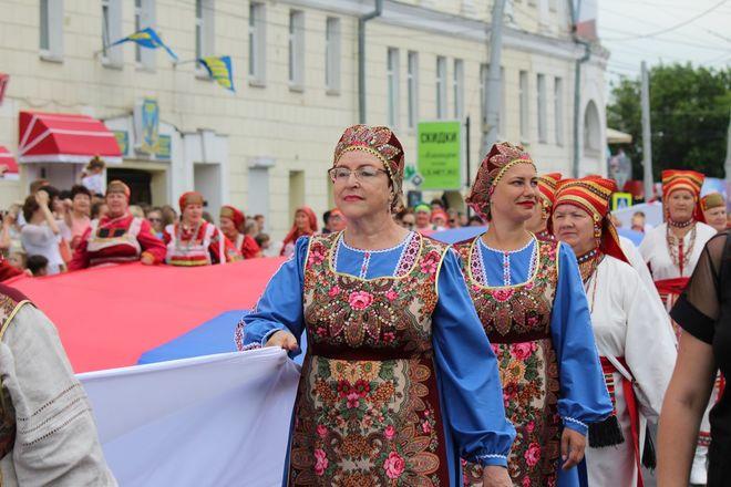 Фестивали духовых оркестров и Дружбы народов прошли в Нижнем Новгороде в День России - фото 7