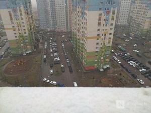 Снегопад неожиданно обрушился на Нижний Новгород