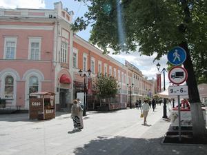 На Большой Покровской установили 16 знаков «Пешеходная дорожка»