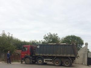 На закрытую несанкционированную свалку в Советском районе вновь пытались ввезти мусор