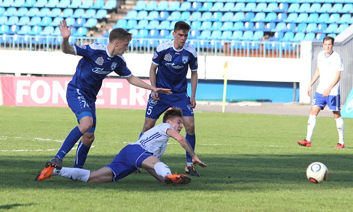 Дубль Лебеденко принес «Факелу» вторую подряд победу в ФНЛ
