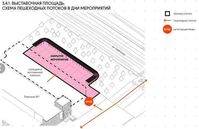 Ленин во ржи и навесы с подогревом: масштабная реконструкция ждет Нижегородскую ярмарку и прилегающие территории - фото 11