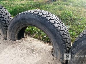Лыжную трассу на Щелоковском хуторе избавили от автомобильных шин