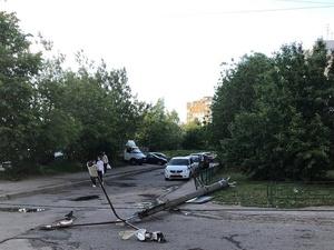 Ураган оставил без света около 170 тысяч нижегородцев