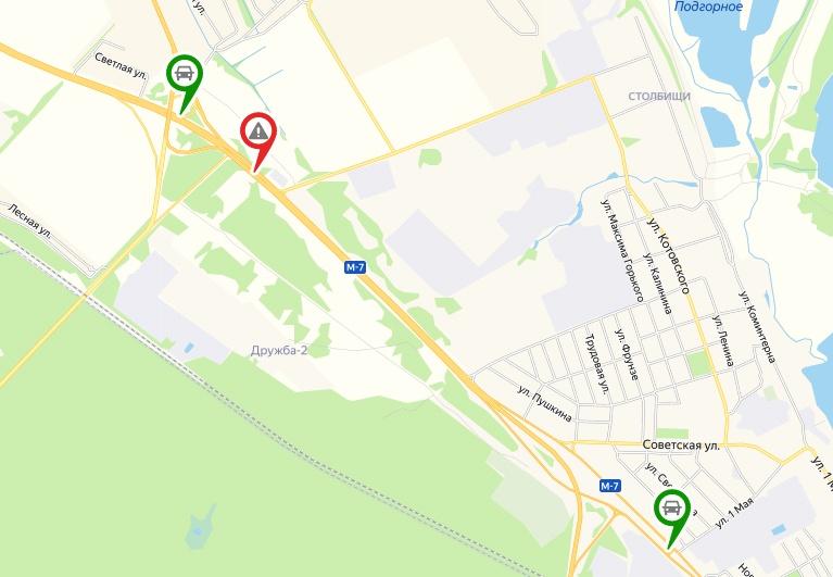 Разворот на Казань ликвидируют на трассе М-7 в Кстовском районе - фото 1