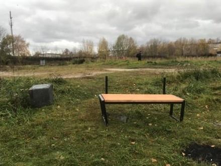 Неизвестные раскурочили часть Дождевого сада в Автозаводском районе
