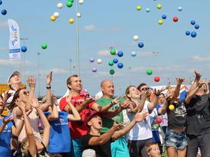 #Прокачайсебя2018: фестиваль спорта состоялся в Нижнем Новгороде (ФОТО)
