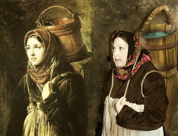 Заключенные нижегородской колонии воссоздали картины мировой живописи - фото 2