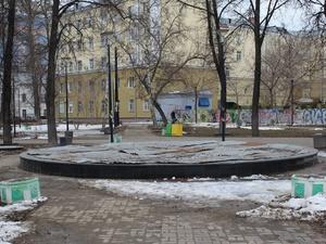 Благоустройство сквера имени Жукова и Черного пруда завершится в ноябре