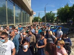 Глава Дзержинска попросил горожан не создавать толпу у МФЦ
