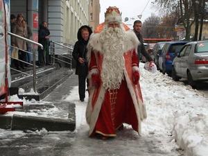 Дед Мороз из Великого Устюга посетил Нижний Новгород (ФОТО)