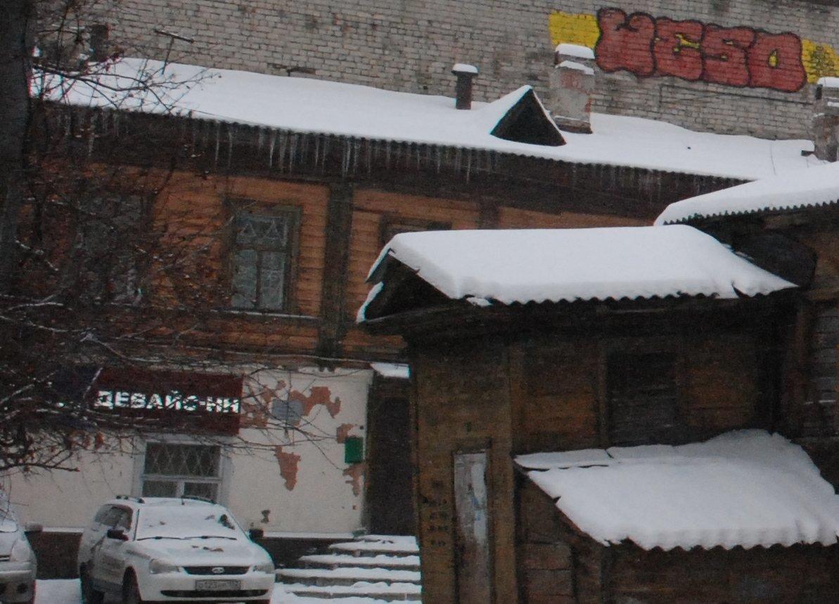 Около старейшего нижегородского деревянного дома хотят построить гостиницу - фото 1