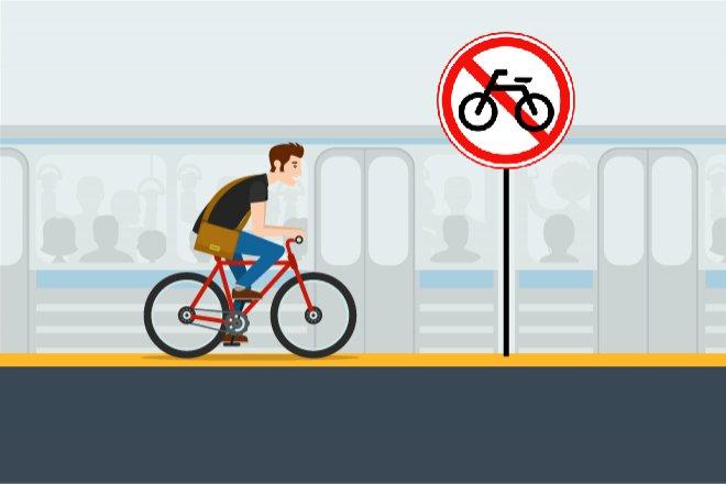 В вагон на колесах: можно ли провозить велосипед в метро?  - фото 4