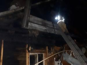 Из-за грозы в Дзержинске сгорел жилой дом