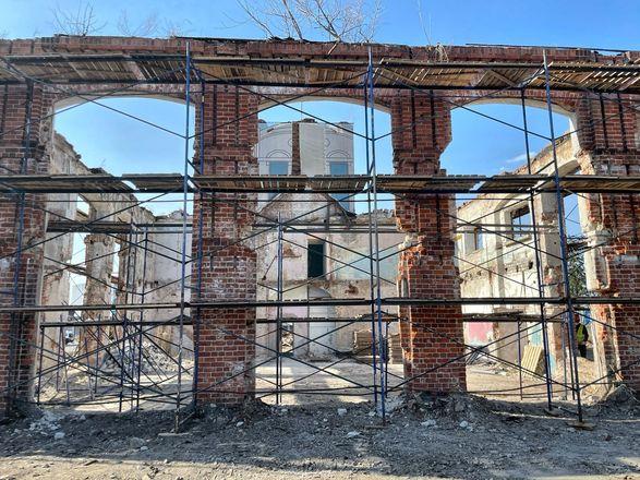 Реконструкция здания фильтровальной станции на нижегородской Стрелке завершится к июлю - фото 2