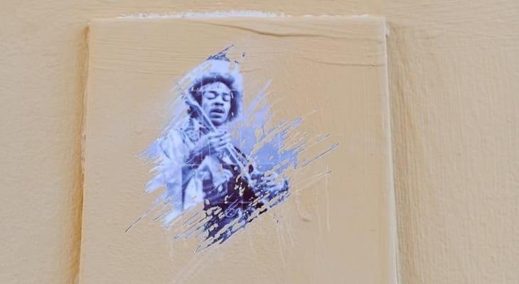 Работу уличного художника закрасили в центре Нижнего Новгорода - фото 1