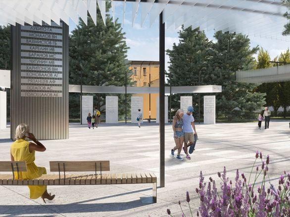 Индустриальные арт-объекты, скейт-парк и перголы: представлена итоговая концепция площади Героев - фото 2