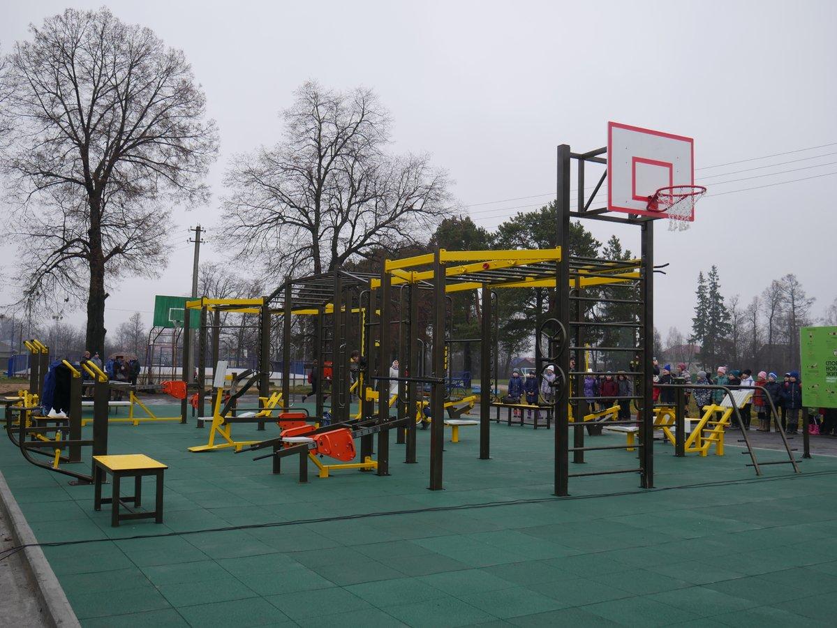 На ветлужском стадионе «Динамо» открыли площадку для воркаута - фото 1