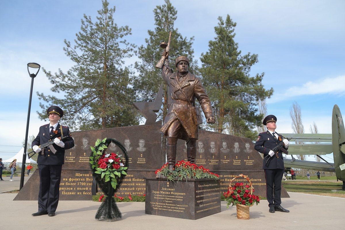 Новый мемориальный комплекс открылся в нижегородском Парке Победы - фото 1
